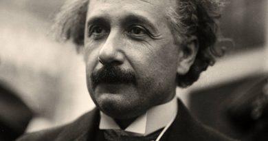 Albert Einstein olvidó su pasaporte