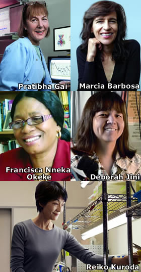 5 mujeres premiadas por L'Oréal