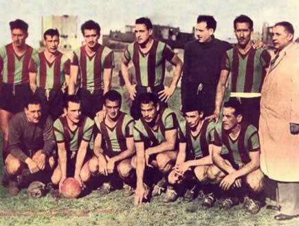 Rampla Juniors 1950 - Campeón del Torneo Competencia
