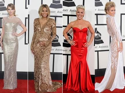 Ellas en los Grammy's
