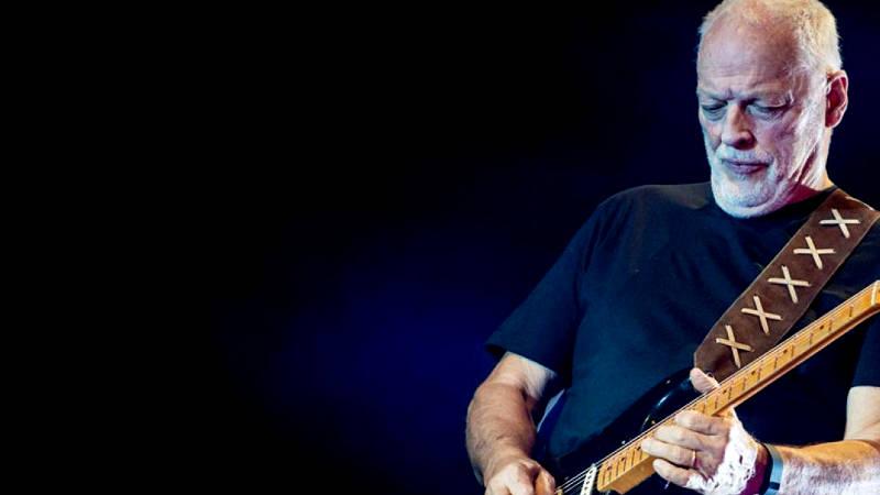 Ojala estuvieras aquí: David Gilmour