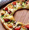 Corona de Pizza de vegetales