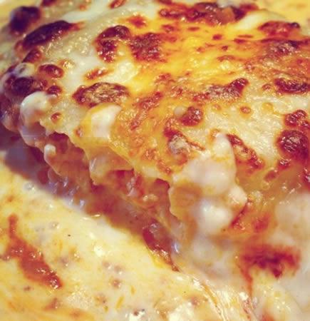 lasaña a la pizza