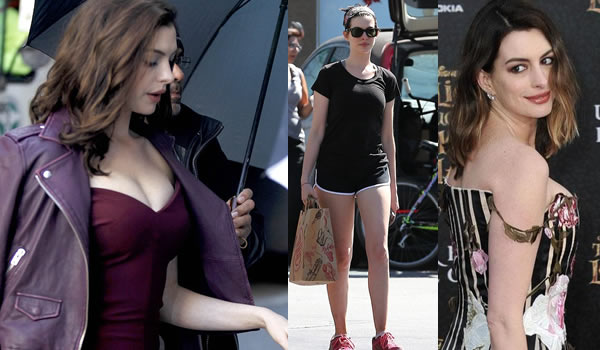 Anne Hathaway responde a su sobrepeso