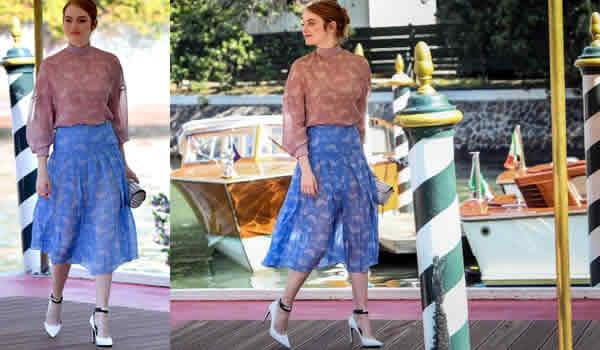 Festival de Venecia con Emma Stone
