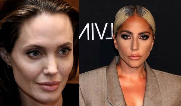 Imágenes de Angelina Jolie y Lady Gaga, que compiten para encarnar a Cleopatra