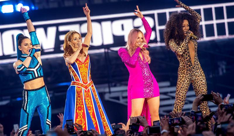 Regresaron las Spice Girls