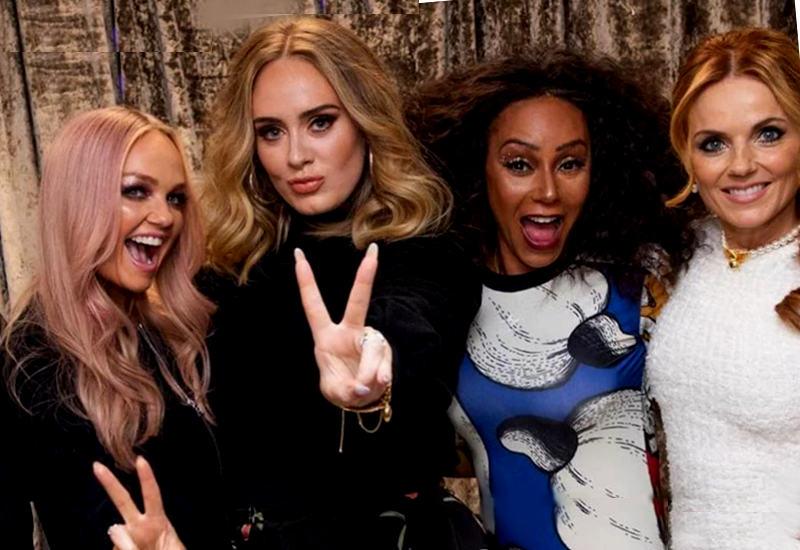 Adele fans de las Spice Girls