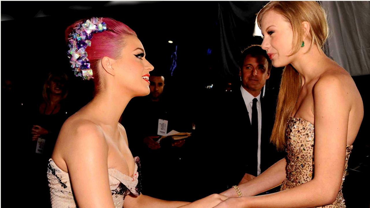 Katy y Taylor, sellaron su amistad con un video