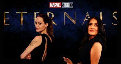 Eternals; Angelina Jolie y Salma Hayak