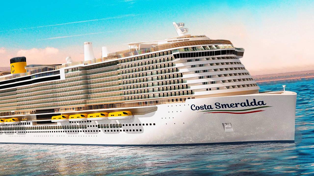 El horror del coronavirus llega al crucero Costa Esmeralda