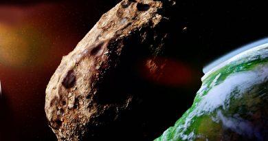 Asteroide llega a la Tierra
