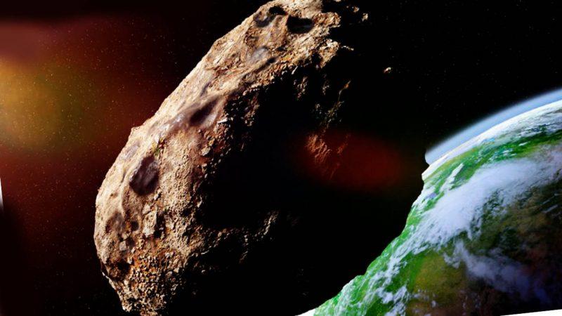 Un gran asteroide llega en abril