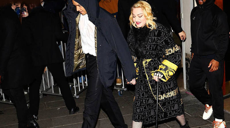 Madonna suspende show por continuas lesiones