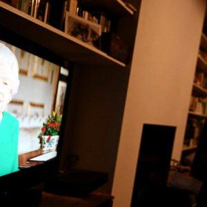 Sorprendente discurso de la reina  Isabel II