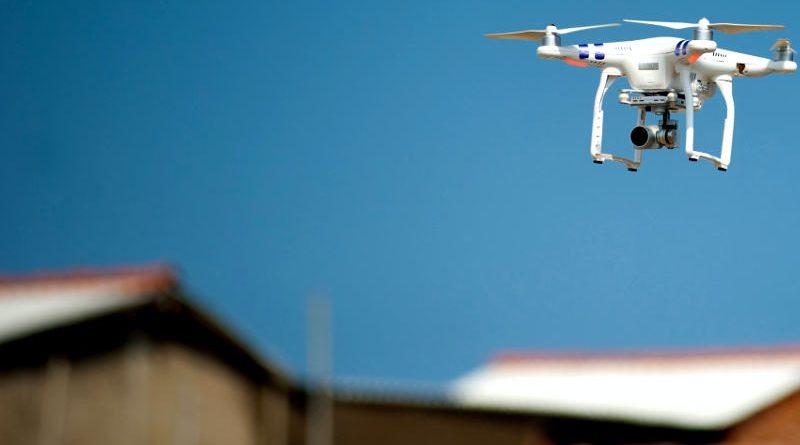 Drones paara supervisar 5G
