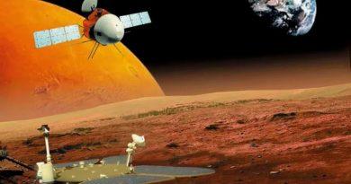 Misión Tianwen 1 vigilada por la NASA