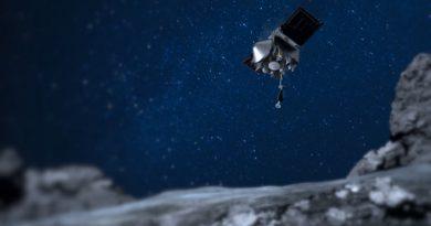 Asteroide Bennu aterrizaje
