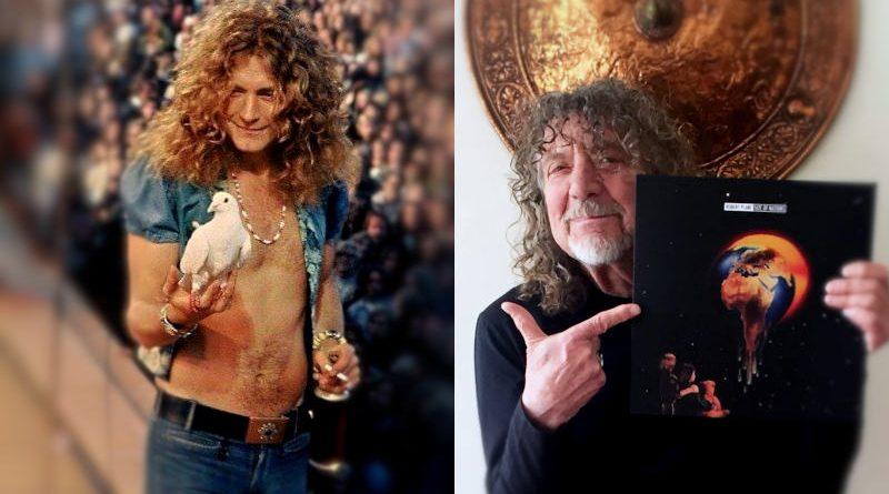 Robert Plant en su día
