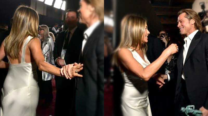Brfad Pitt y Jennifer Aniston