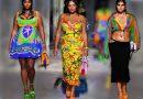 Las modelos talle grande de Versace