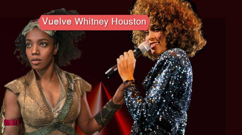 Naomi Ackie protagoniza a Whitney Houston
