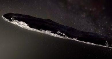 Oumuamua; ¿Asteroide o nave espacial?