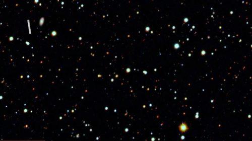 Galaxia Tucana II cubierta de materia oscura