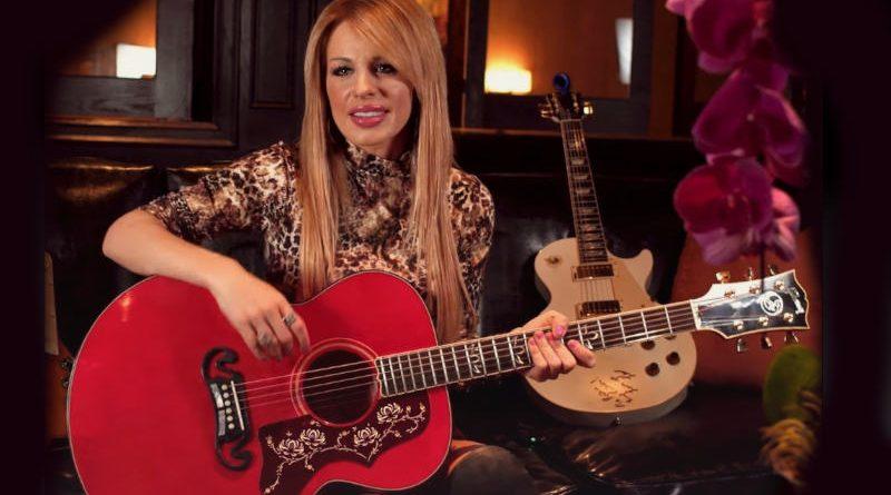 Gibson se asocia con la guitarrista Orianthi