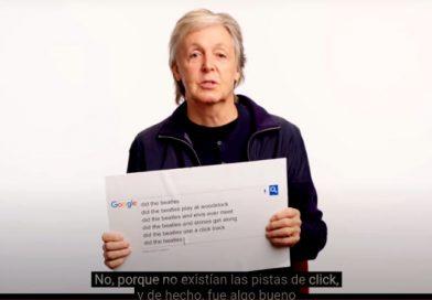 Paul McCartney le responde a Google