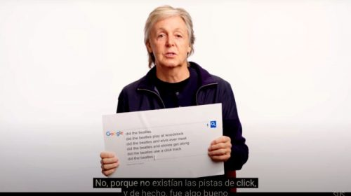 Paul McCartney le responde a Google